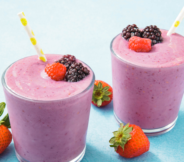 Triple berry smoothie hhcicrk